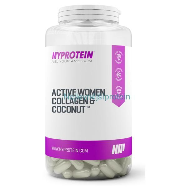 MyProtein Active Women Collagen & Coconut with vitamin C 180 kapslí