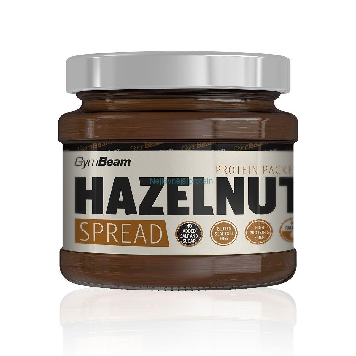 GymBeam Hazelnut Spread 340g