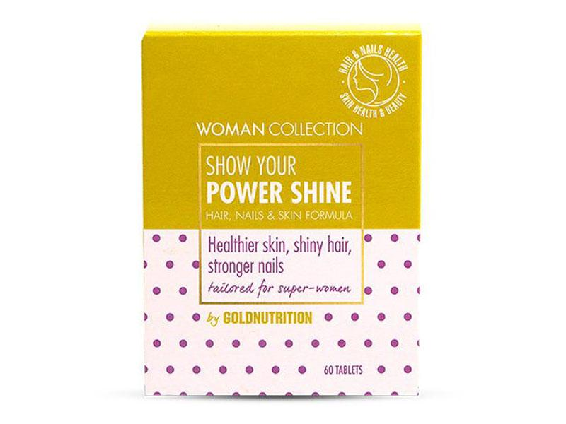 GoldNutrition Power Shine 60 tablet