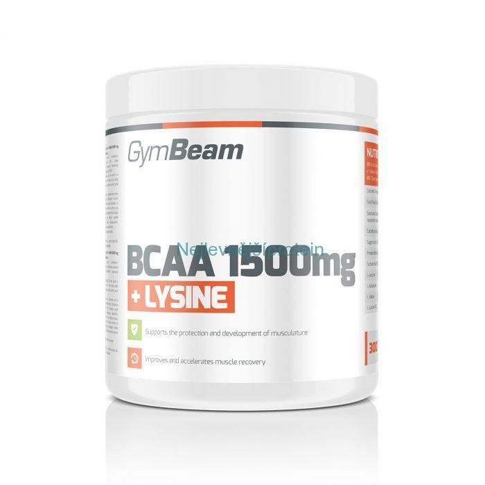 GymBeam BCAA 1500 + Lysin 300 tablet