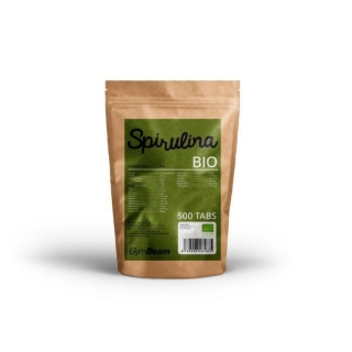 GymBeam Bio Spirulina 500 tablet