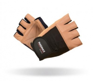 MadMaxFitness rukavice FITNESS BROWN